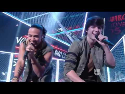 La Banda 2016 - Para Enamorarte performance by CNCO