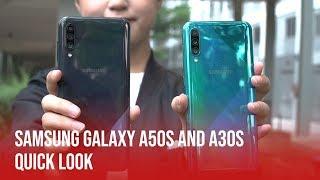Samsung Galaxy A50s & A30s | Quick Look