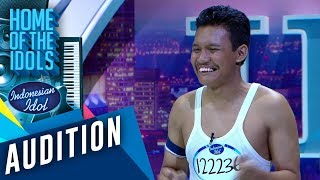 Download lagu Eeeooo Freddie Mercury alias Ariep lagi audisi tapi kedinginan AUDITION 2 Indonesian Idol 2020 MP3