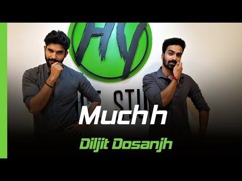 Muchh - Diljit Dosanjh | Bhangra Pride Crew | HY Dance Studios | The Boss | Kaptaan