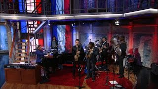Jon Batiste & Stay Human Perform The French National Anthem