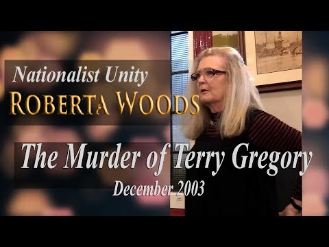 Roberta Woods: 'The Murder of Terry Gregory - December 2003'