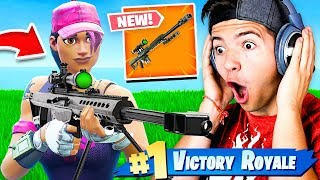 *NEW* HEAVY SNIPER GAMEPLAY! - Fortnite Battle Royale