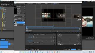 프로쇼 3D 사각 비디어 영상쇼 제작과정