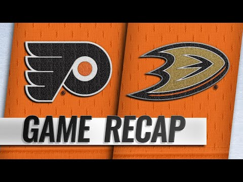 Patrick pots late goal to seal Flyers' 3-2 road win
