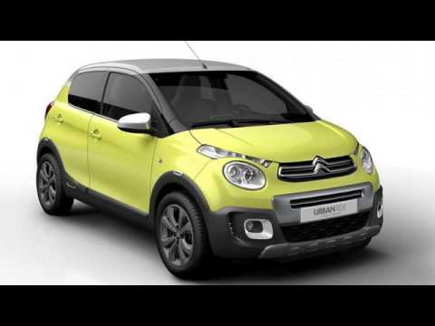 2017 citroen c1 urban ride crossover concept youtube. Black Bedroom Furniture Sets. Home Design Ideas