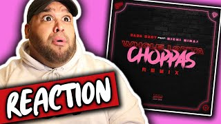 Sada Baby ft. Nicki Minaj - Whole Lotta Choppas (REMIX) Reaction