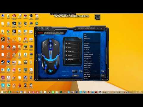 วิธีติดตั้ง E-BLUE พร้อมวิธีตั้งมาโครซองเกม PB