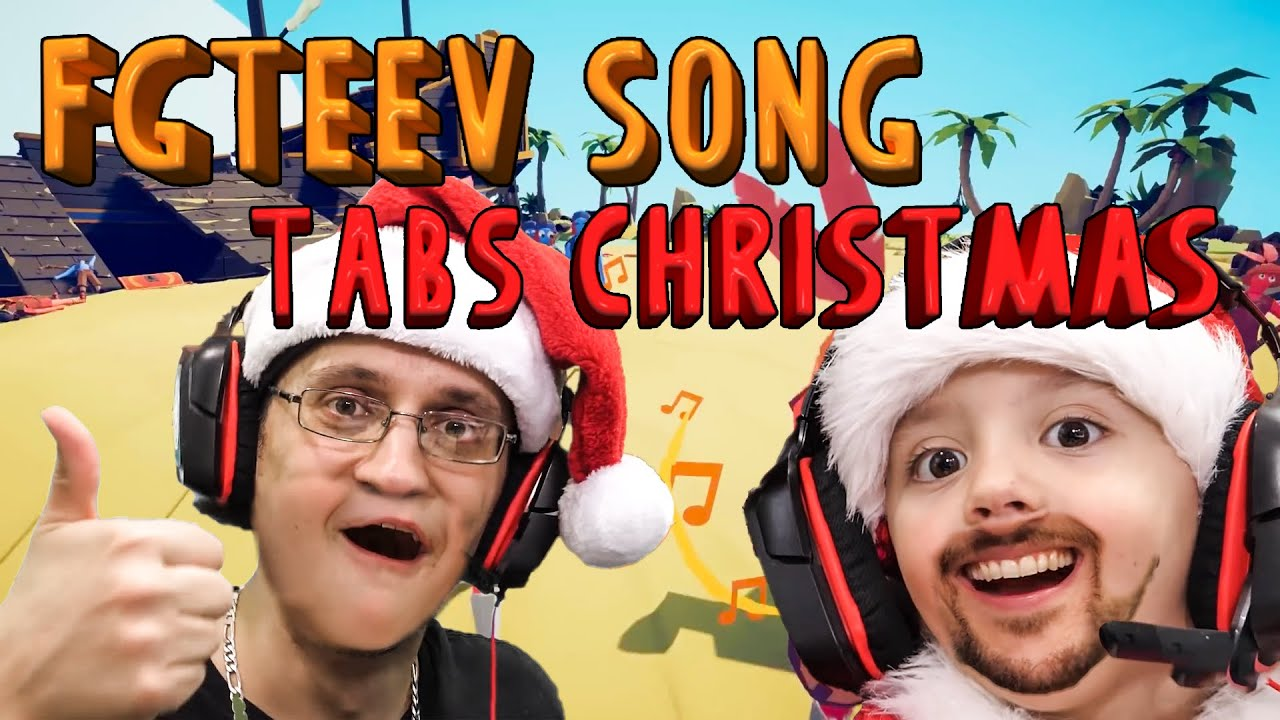 New Christmas Rap Music 2020 NEW FGTEEV SONG   TABS CHRISTMAS 2019 EPIC RAP (Music Video by