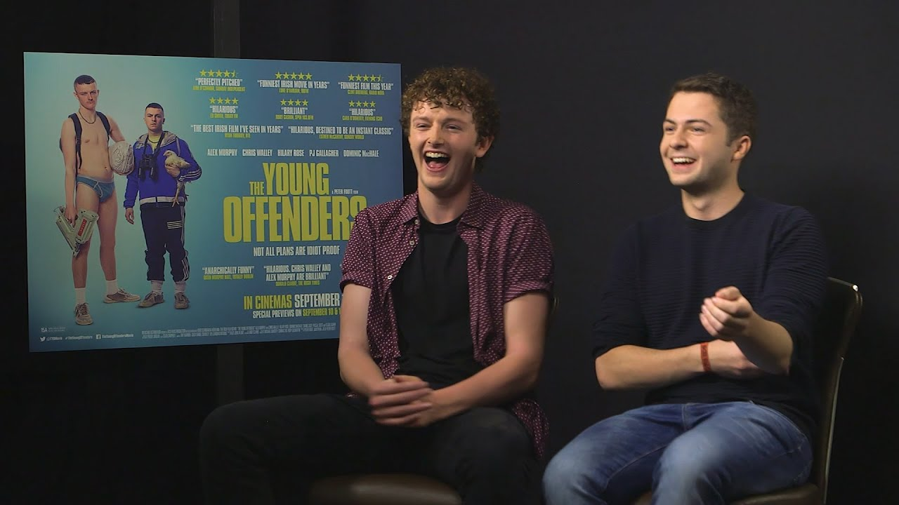 Chris Walley And Alex Murphy Talk Young Offenders With Entertainment Ie Youtube
