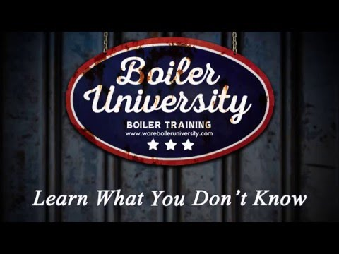 Boiler Training Courses And Operator Classes