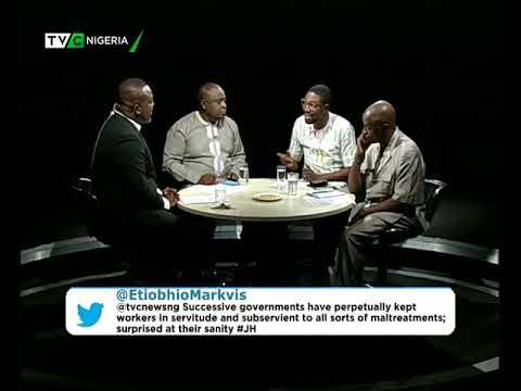 Journalists' Hangout 28th November 2017 | Buhari inaugurates Committee for  new minimum wage