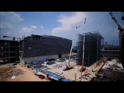 Supply Chain City Construction Time-Lapse