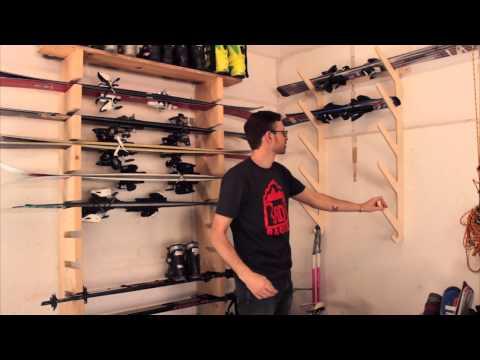 Modular Ski Rack: Baltic Snow by Denver's Rado Racks [Review]