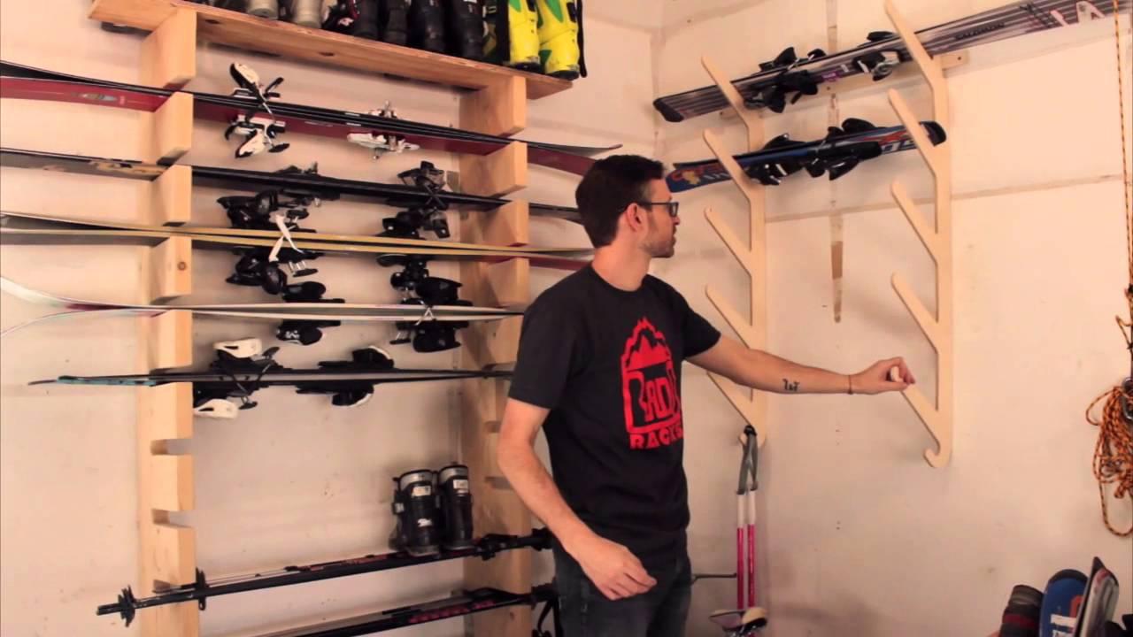 Modular ski rack baltic snow by denvers rado racks review youtube solutioingenieria Images