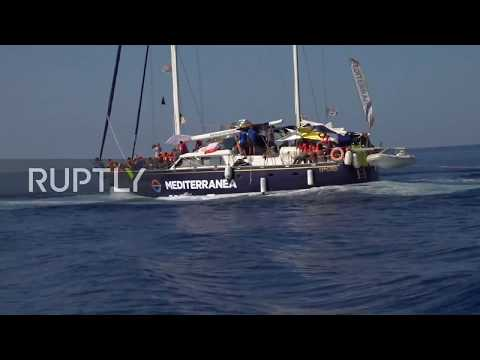 Italy: Second rescue ship docks in Lampedusa with 41 migrants despite Italian ban