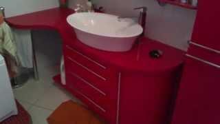 Ванная комната Calypso . Мебель под заказ Идея Студия .(, 2014-10-11T09:12:40.000Z)