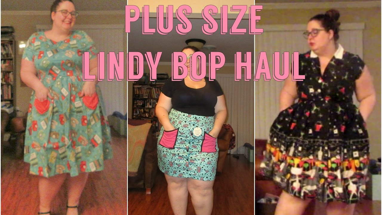 Plus Size Vintage-Inspired Lindy Bop Haul