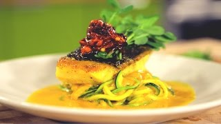 Featured Recipe: Black Cod & Curry Zucchini Noodles with Chef Lester Austin