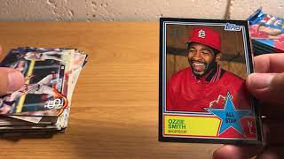 ASMR Whisper and Gum Chewing: 2018 Topps Series 2 Blaster Box
