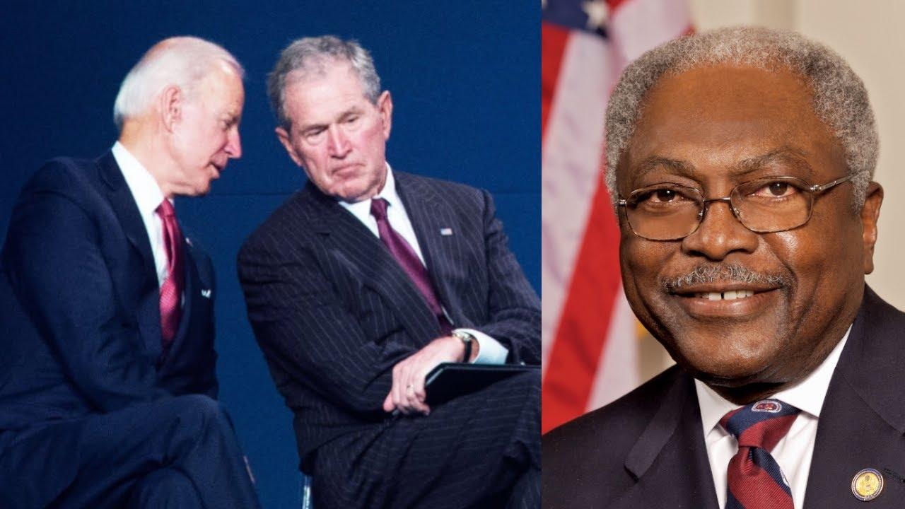 Clyburn says ex-President George W. Bush told him he's 'the savior ...