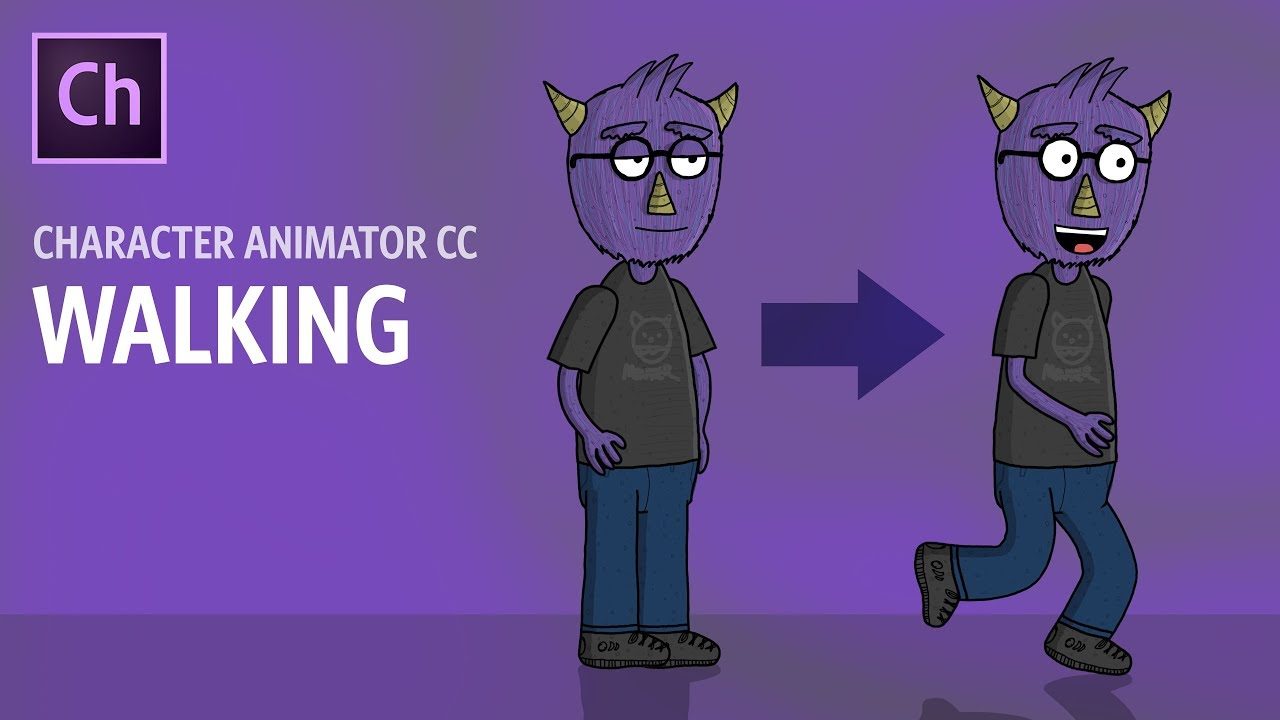 Walking in Adobe Character Animator (2018 – ARCHIVED)
