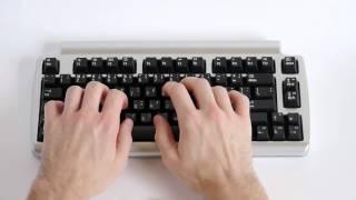 Matias Laptop Pro Typing Test (Matias Quiet ALPS) - KeyChatter.com