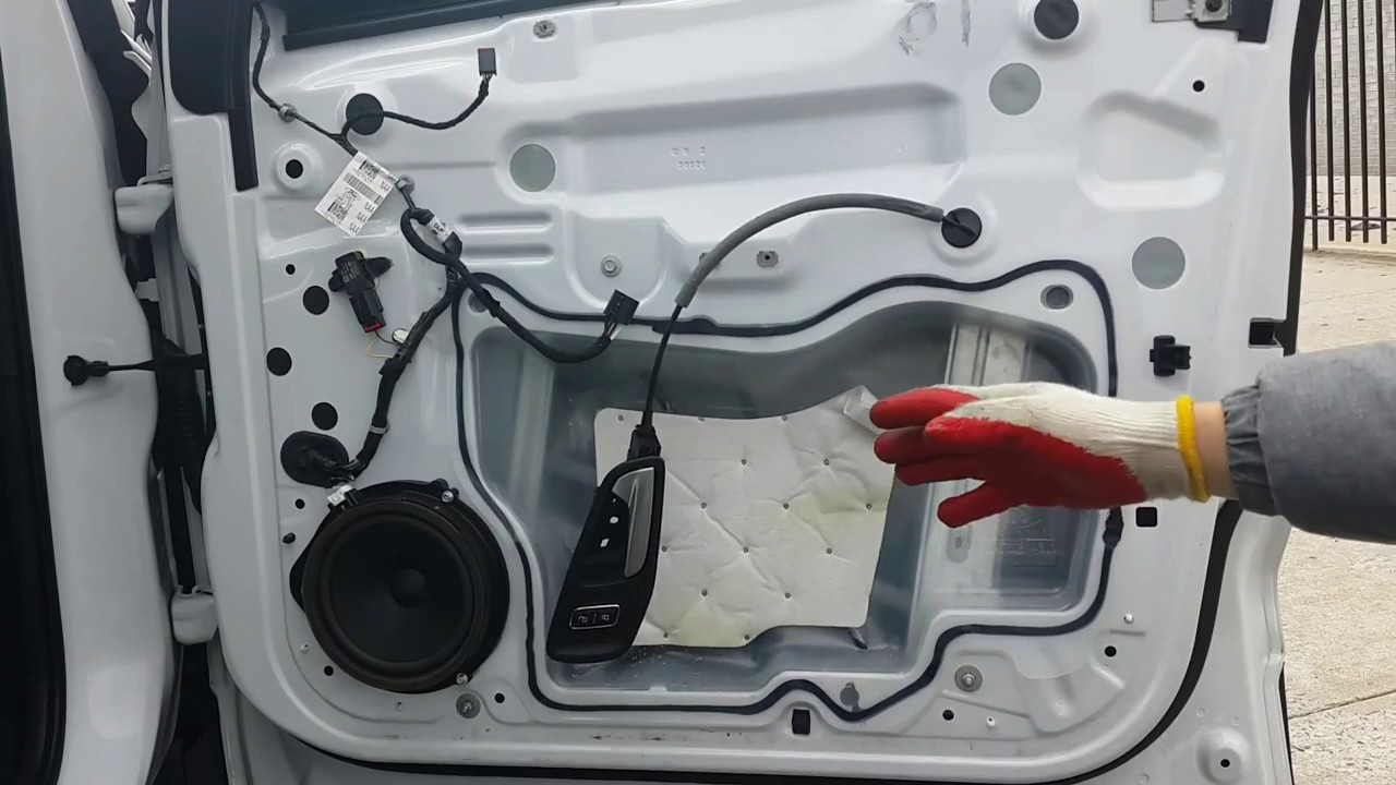 How to remove door panel on Ford Escape 201317 , window