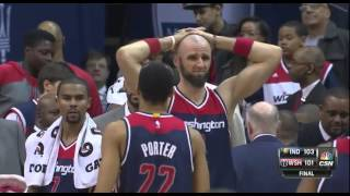 George Hill game-winner: Indiana Pacers at Washington Wizards