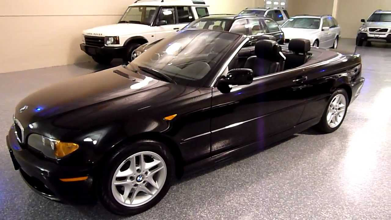 2004 bmw 325ci 2dr convertible 2092 sold youtube. Black Bedroom Furniture Sets. Home Design Ideas