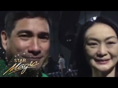 Marina Benipayo and Ricardo Cepeda for Xian Lim