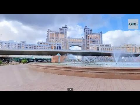 Astana, Capital of Kazakhstan, The second Coldest Capital in the World [IGEO TV]