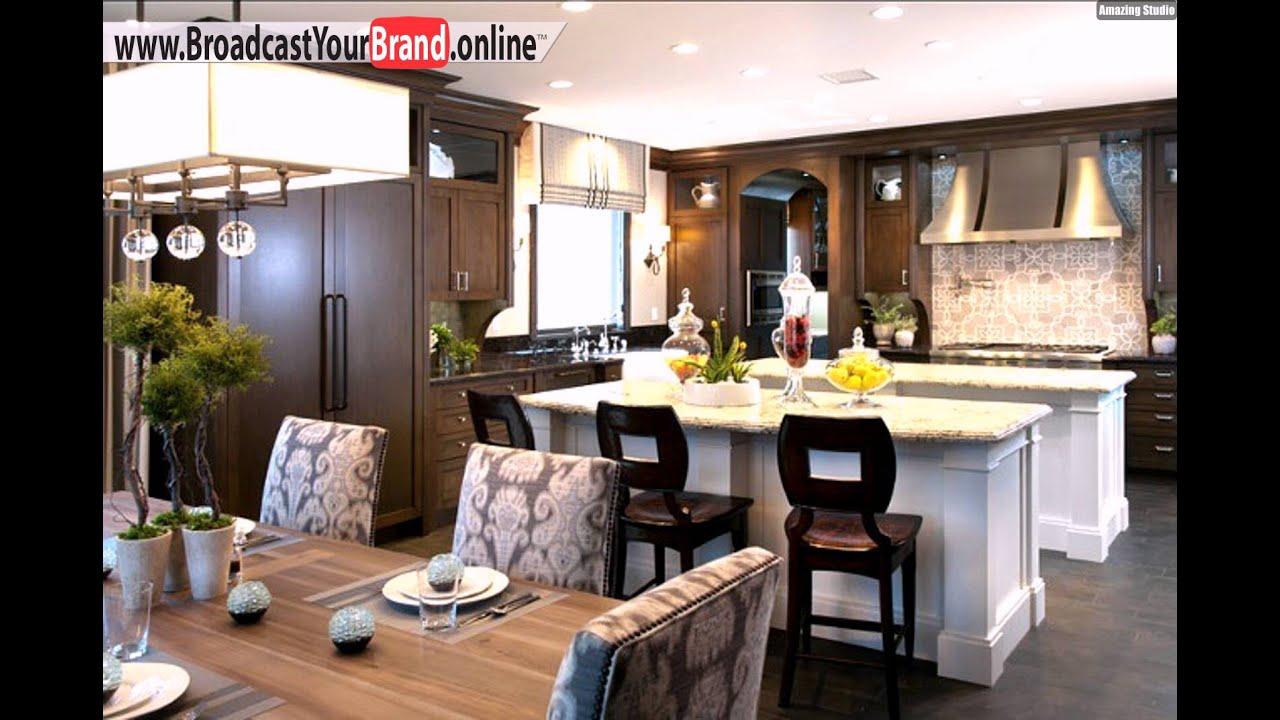 Wohnideen Küche Traditionell Zwei Kücheninsel Marmor - YouTube