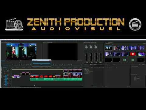 Adobe premiere pro - TV ZENITH - Montage en live