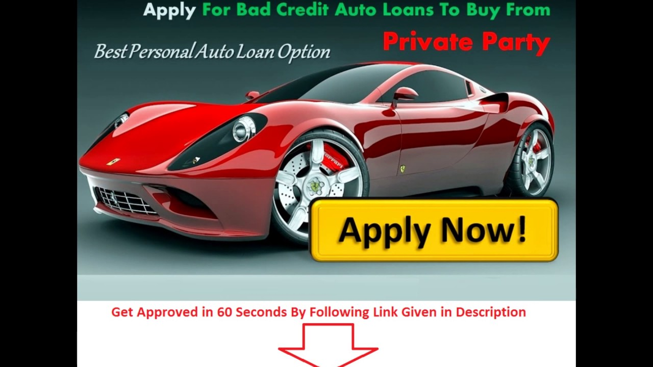 Get Car Loan Bad Credit No Down Payment
