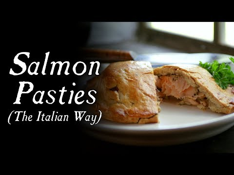 Fish In Your Pocket? - Salmon Pasties