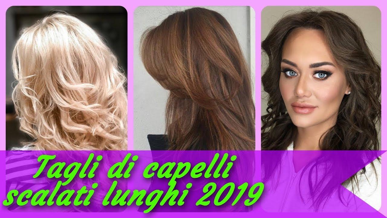 20 Idee Per Tagli Di Capelli Scalati Lunghi 2019 Youtube