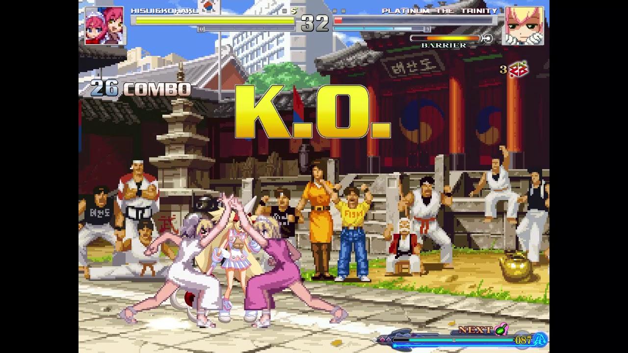 Hisui and Kohaku Team Super Encore.