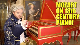 How Mozart Sounds on Harpsichord (18th century)