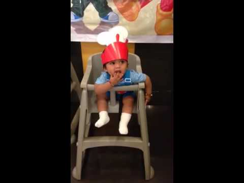 Manghud On A Jollibee High Chair Youtube