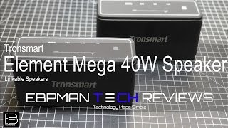 Tronsmart Element Mega 40W Linkable Speakers with Massive Bass