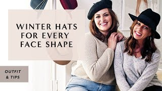 6e58adeb21 How To Find The BEST HATS For Your Face Shape I Sydne Summer