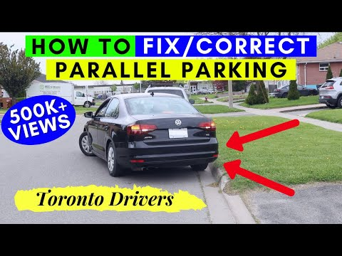 How to CORRECT PARALLEL PARKING    Road Test Tips    Toronto Drivers