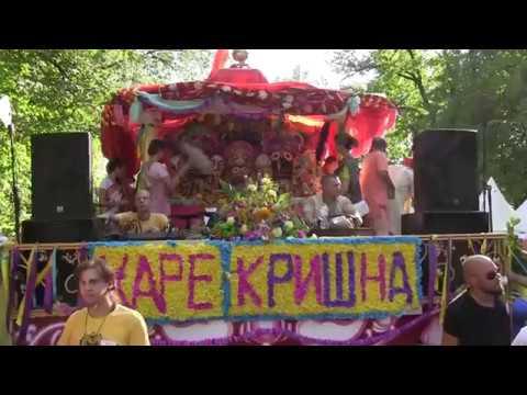 H.H. Gopal Krishna Goswami, Ratha Yatra in Moscow, 11.08.2018