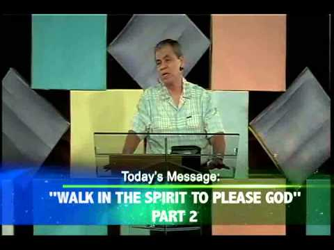 Walk in the Spirit to please God (Tagalog)