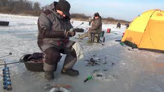 Зимняя рыбалка  Открытие сезона 2019 2020 гг