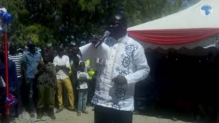 MP Lodepe urges students to focus on education, says he owes his success to World Vision