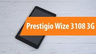 Распаковка Prestigio Wize 3108 3G / Unboxing Prestigio Wize 3108 3G