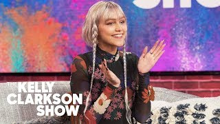 Grace VanderWaal Cooks Josh Gad And Kelly Her &#39Lasagna Soup&#39 Concoction