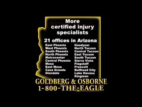 Goldberg & Osborne TV Commercial 2015 - 21 Offices in Arizona